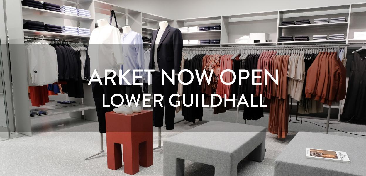 ARKET now open at Bluewater, Kent