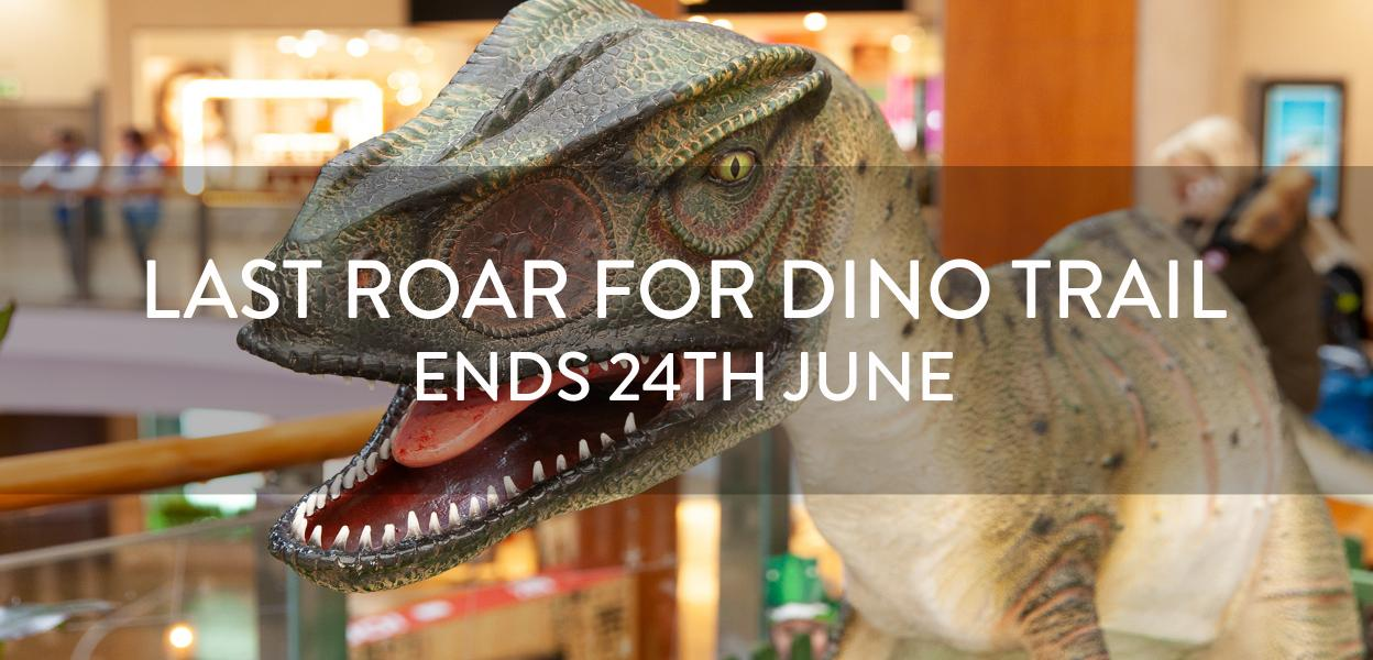 Dino Trail at Bluewater, Kent