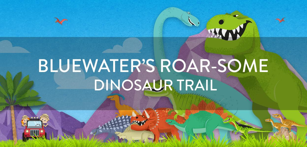 Dino Trail half term fun at Bluewater, Kent
