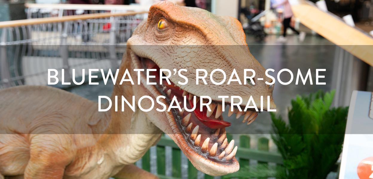 Dinosaur Trail, Bluewater, Kent