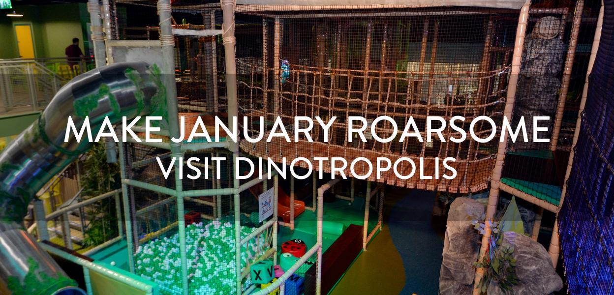 Dinotropolis, Bluewater, Kent