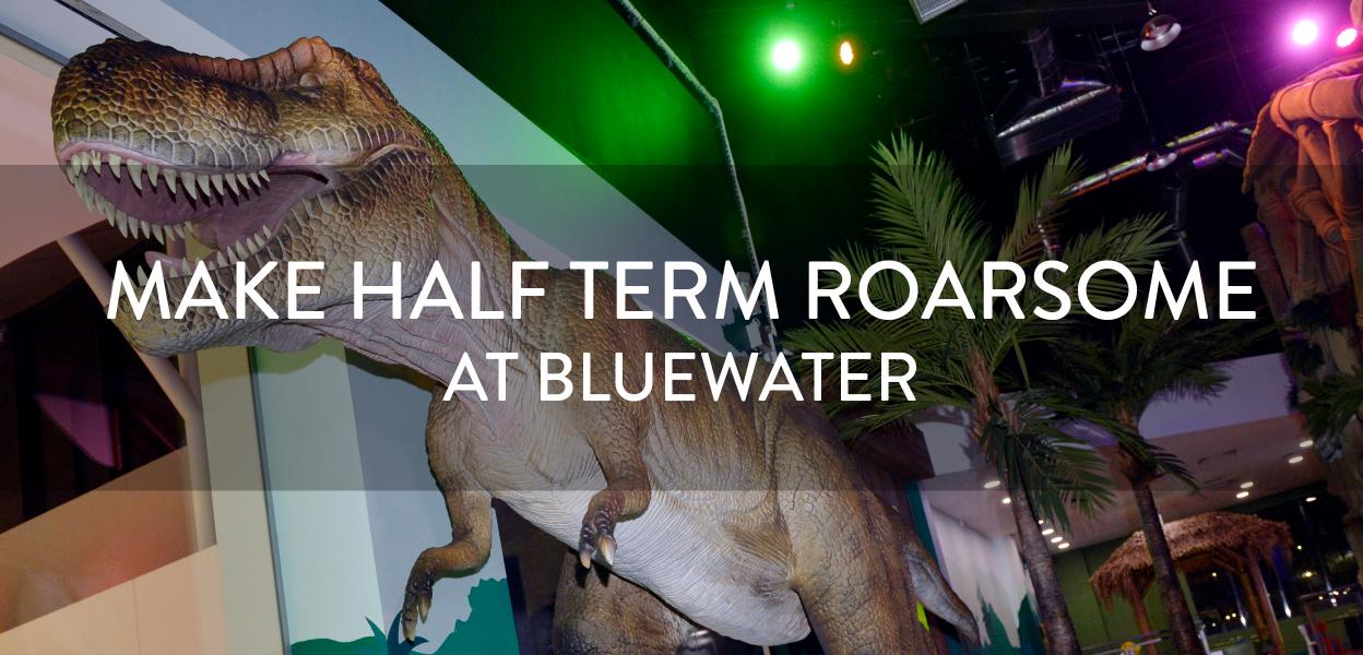 Feb half term at Dinotropolis, Bluewater, Kent