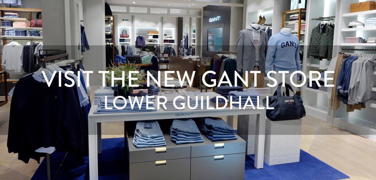 GANT new store now open. Bluewater, Kent