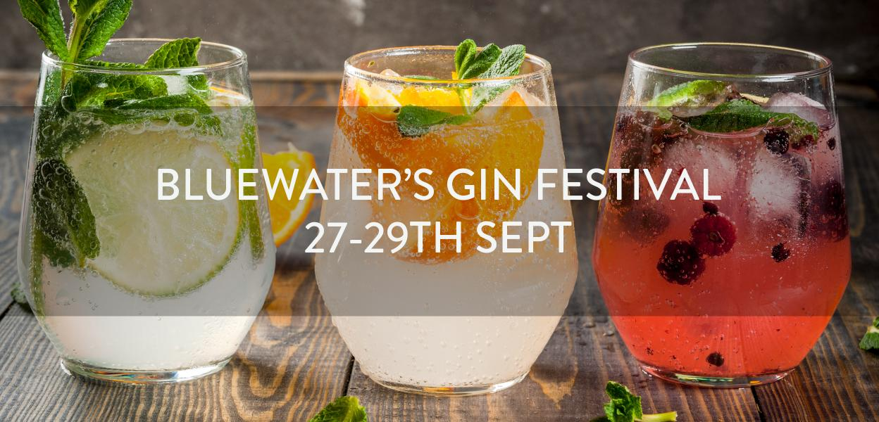 GIN FESTIVAL BLUEWATER KENT