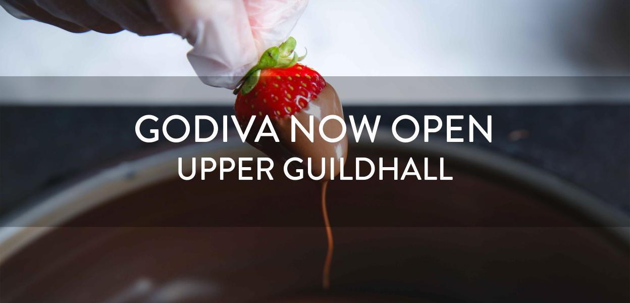 Godiva now open