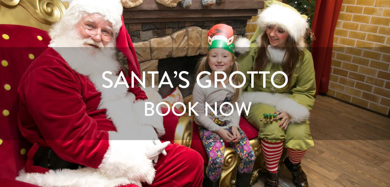 Santas Grotto at Bluewater, Kent