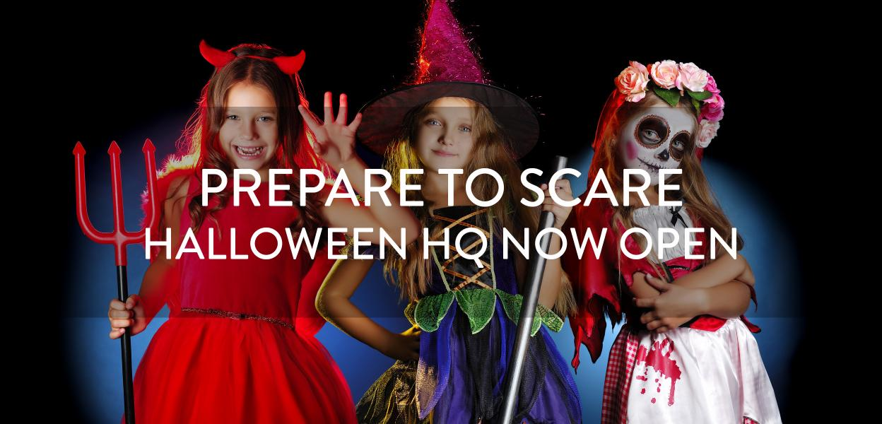 Halloween HQ now open, Bluewater, Kent