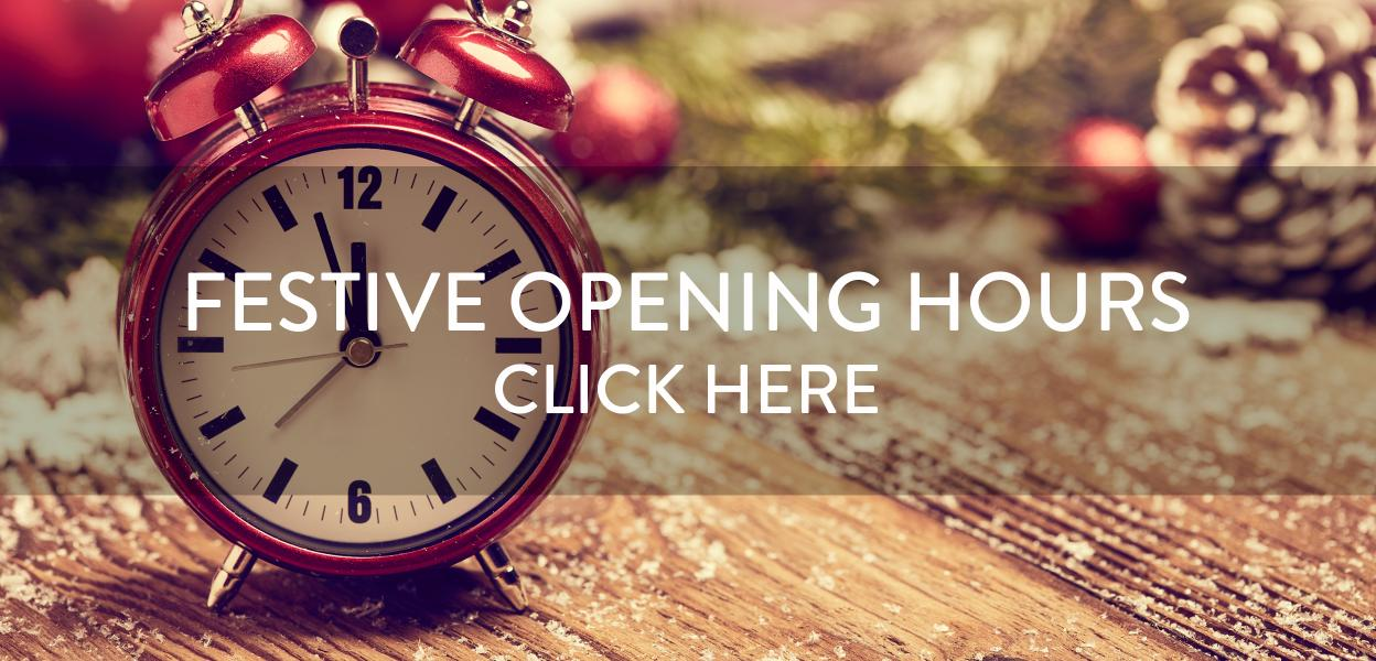 Bluewater Christmas Trading Hours