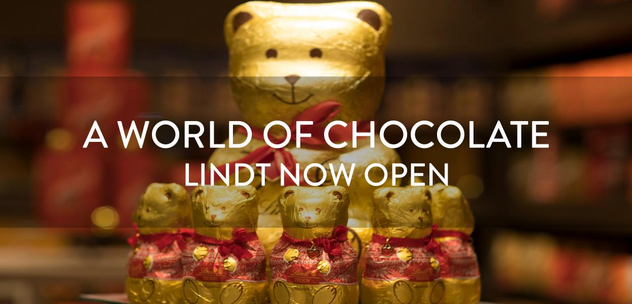 Lindt Store now open, Bluewater, Kent