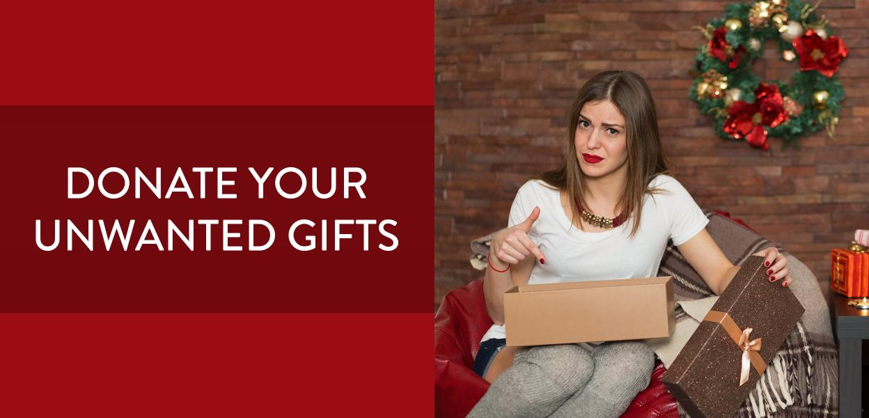 Regift your unwanted presents at Bluewater, Kent