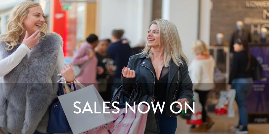 sales now on at Bluewater Kent