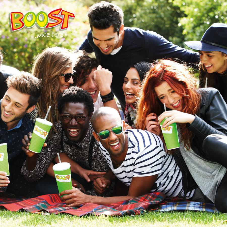 Boost juice and smoothies at Bluewater