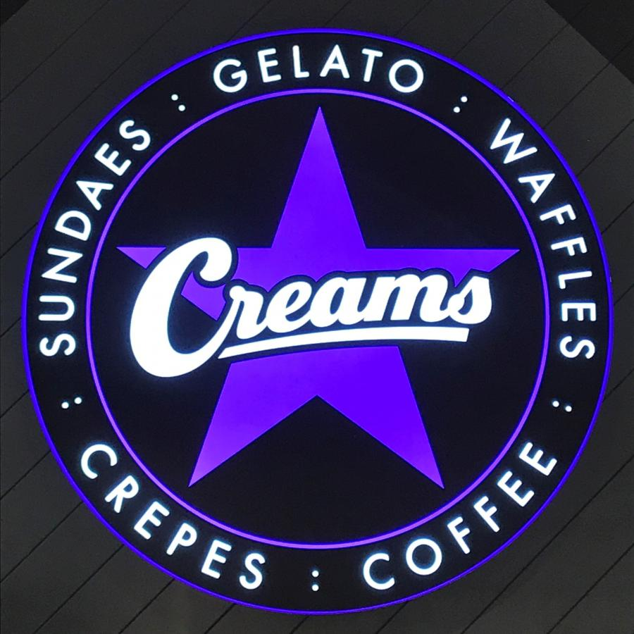 Creams, Bluewater, Kent