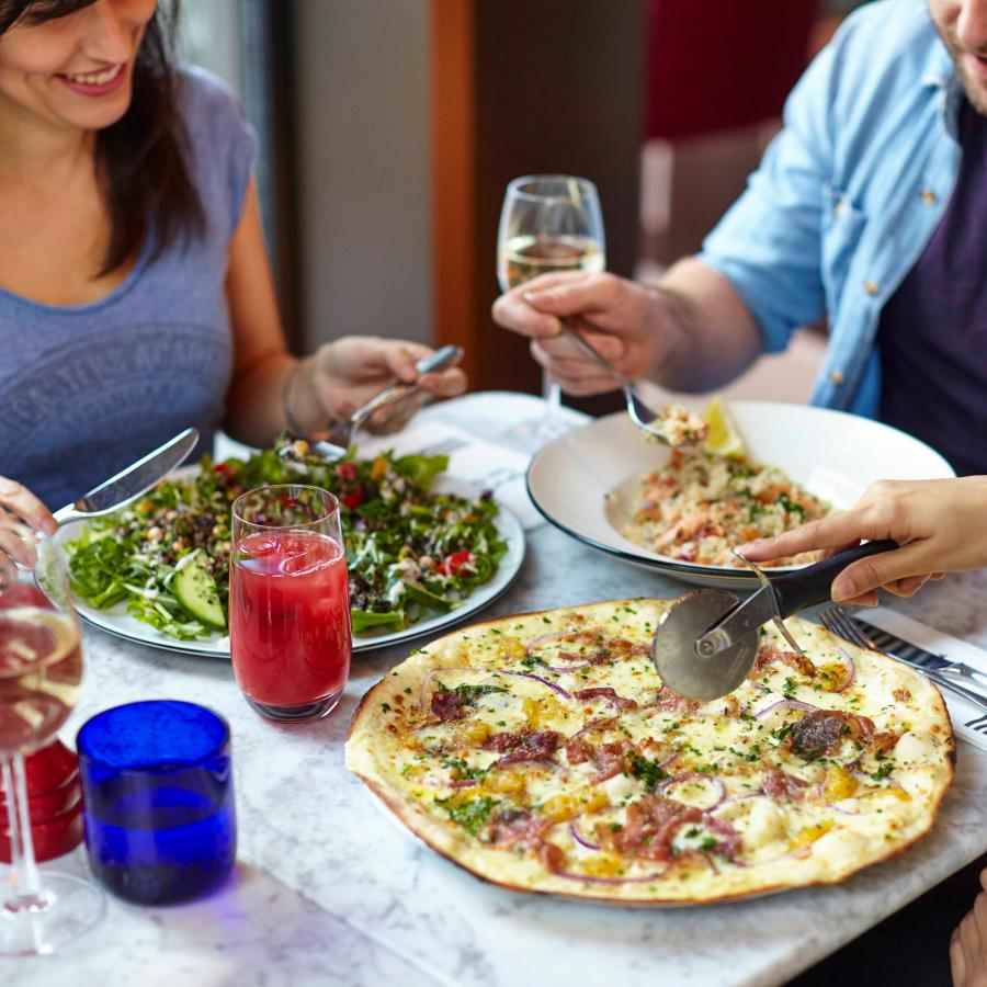 PizzaExpress family dining at Bluewater, Kent
