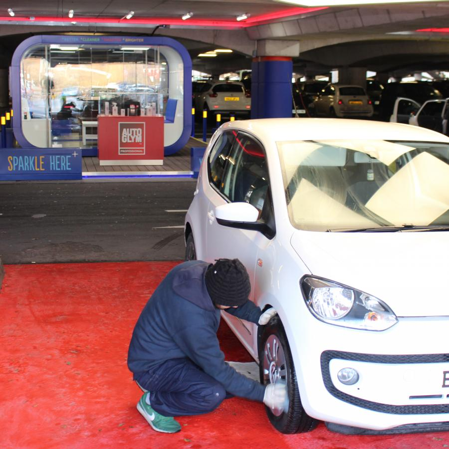 Car cleaning and valet services from The Carwash Company at Bluewater, Kent.