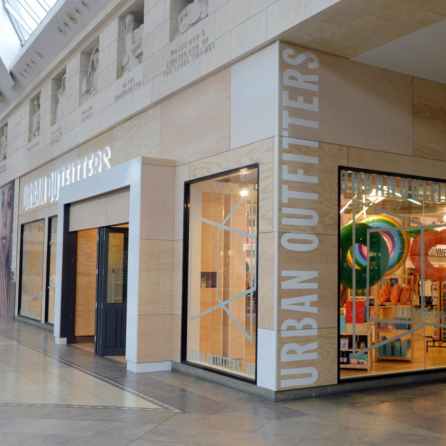 Urban Outfitters, Bluewater, Kent