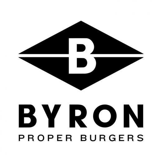 Byron Burger Logo, Bluewater, Kent