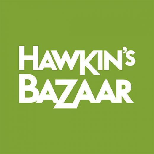 Hawkins Bazaar logo, Bluewater, Kent