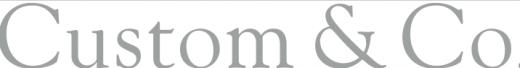 Custom & Co. logo