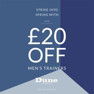 Dune Men's Trainer offer, Bluewater, Kent