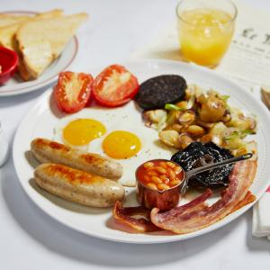 Cafe Rouge breakfast, Bluewater, Kent
