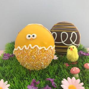 Easter Doughnuts now at Krispy Kreme, Bluewater, Kent