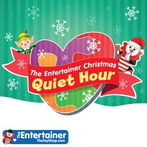 Christmas Quiet Hour at The Entertainer, Bluewater, Kent