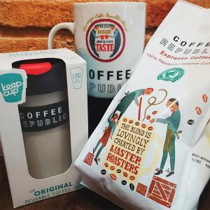 A sustainable gift for your favourite coffee lover from Coffee Republic, Bluewater, Kent