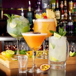 Zero Mocktails at TGI Fridays, Bluewater, Kent