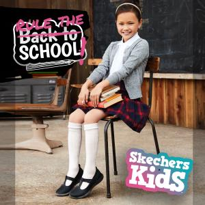 Back to school with Sketchers, Bluewater, Kent