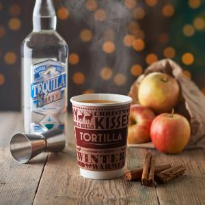 Tortilla launches festive Spiced Apple & Gingerbread punch, Bluewater, Kent