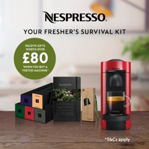Back to uni with Nespresso, Bluewater, Kent