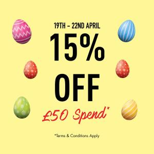 Easter weekend offer at The Perfume Shop, Bluewater, Kent