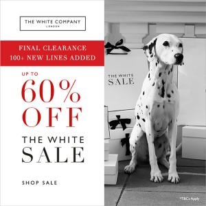 The White Company Sale, Bluewater, Kent