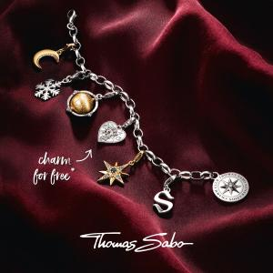 FREE Heart Charm Christmas Promotion at Thomas Sabo, Bluewater, Kent