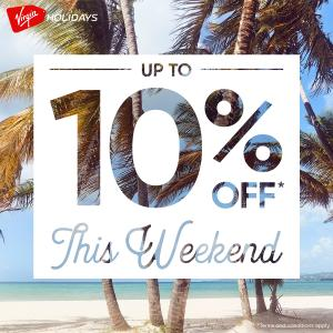 10% off this Weekend Including Lounge at Virgin Holidays