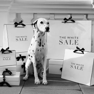 Summer sale final clearance at The White Company, Bluewater, Kent