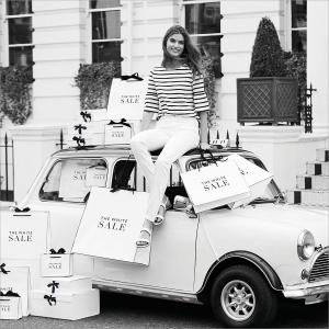 The White Company Summer Sale, Bluewater, Kent