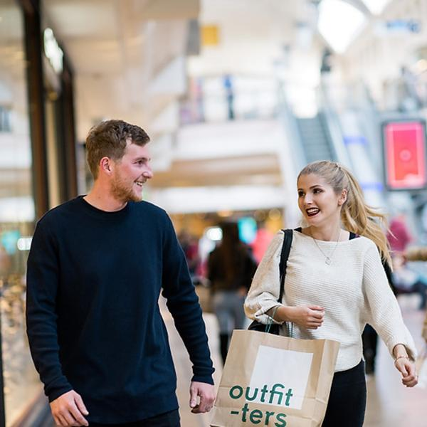 Over 300 stores and 50 places to eat at Bluewater Shopping and Leisure destination at Bluewater, Kent