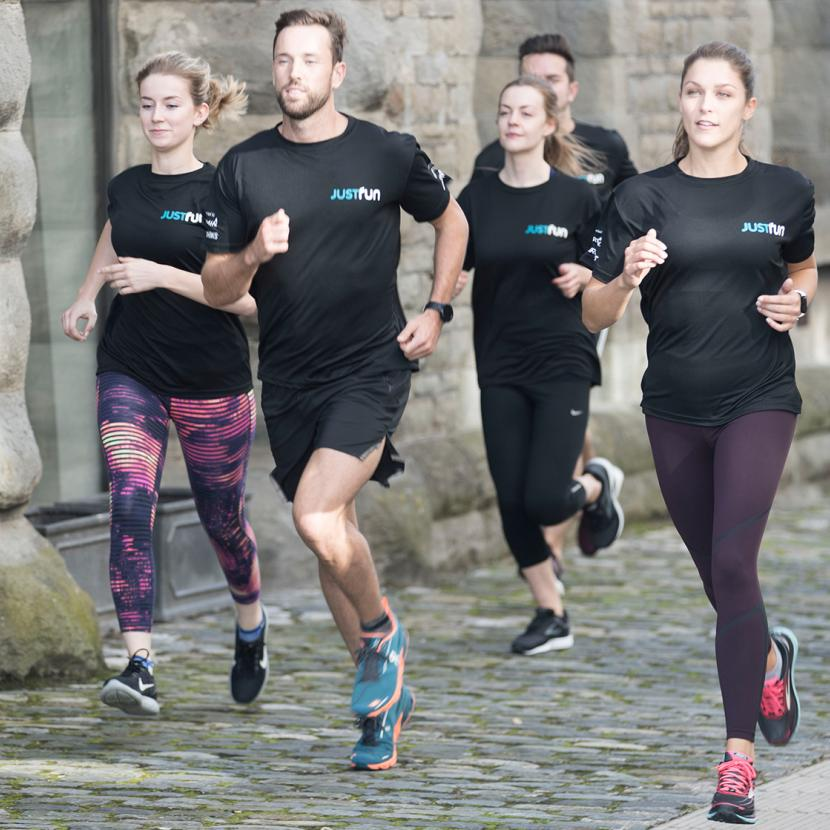 Running club at RunnersNeed, Bluewater, Kent