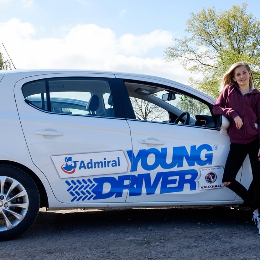 Young Driver at Bluewater, Kent