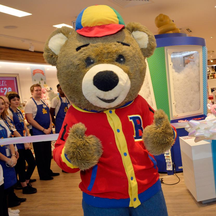 Create your own soft toy or host a children's party at Build A Bear Workshop, Bluewater.