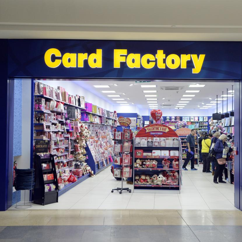 Card factory bluewater shopping retail destination kent card factory image negle Images