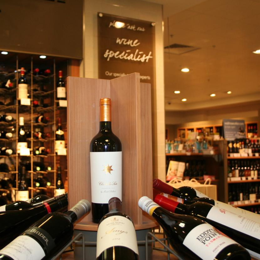 John Lewis Foodhall wine bar at Bluewater, Kent