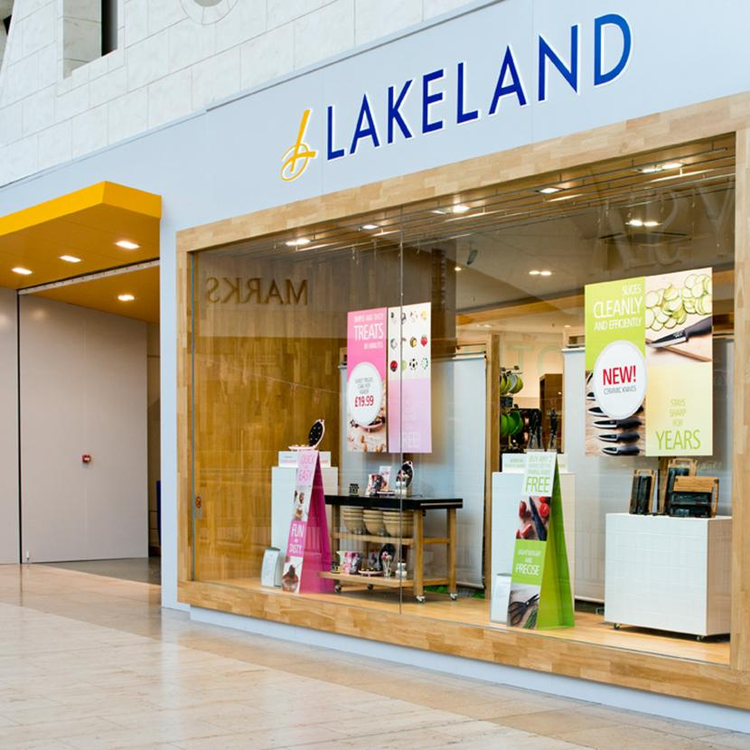 Lakeland kitchenware, homeware, garden accessories and gifts at Bluewater, Kent