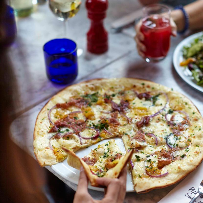 Pizza Express family dining at Bluewater, Kent