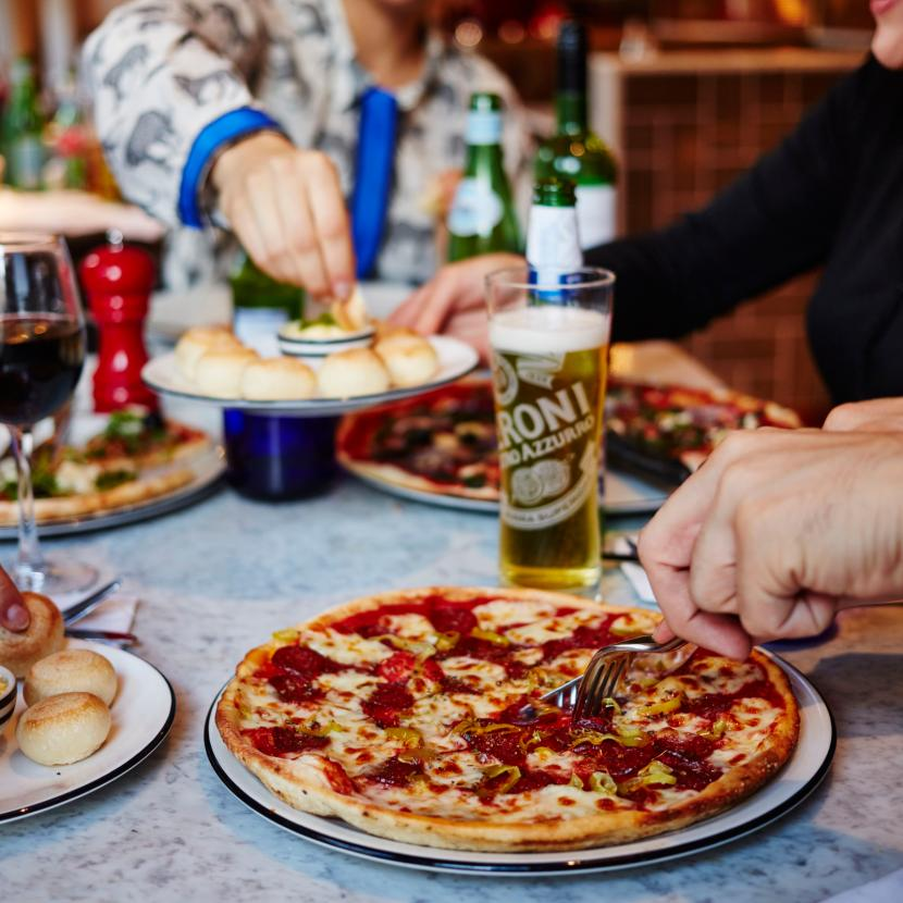 Pizza express bluewater shopping retail destination kent for Pizza and fish express
