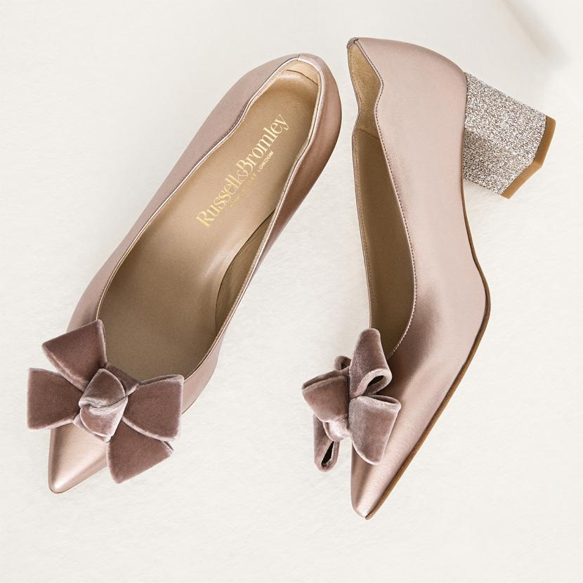 Russell and Bromley men's and women's luxury shoes and bags at Bluewater, Kent