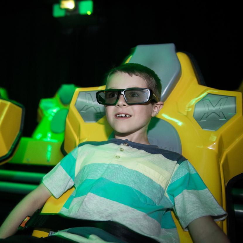 SEGA XD 4D cinema experience at Bluewater, Kent