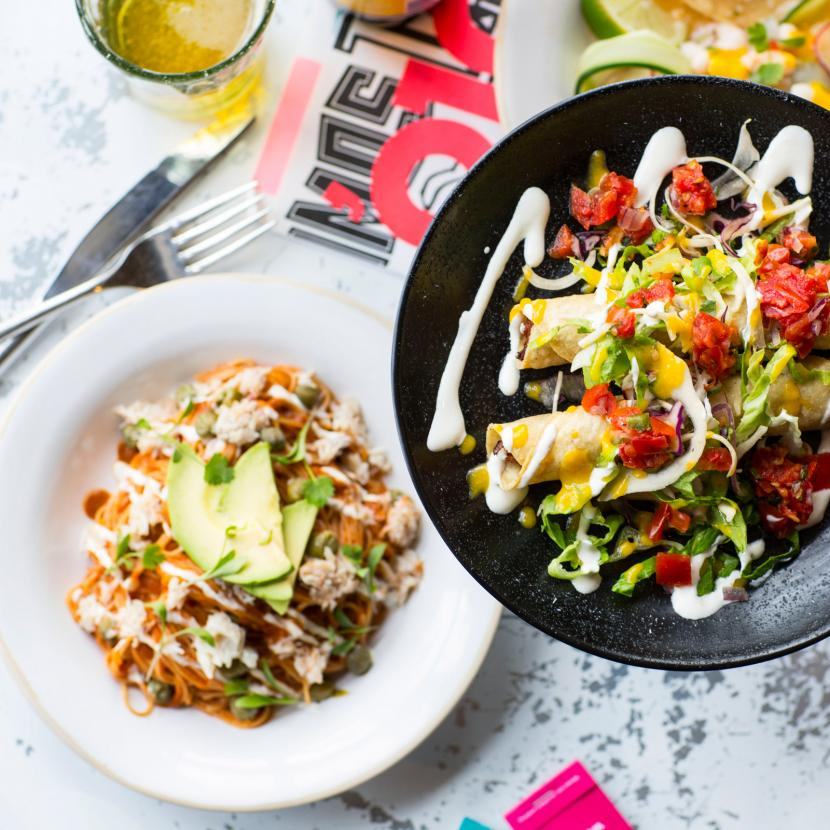 Wahaca Mexican Street Food restaurant at Bluewater, Kent